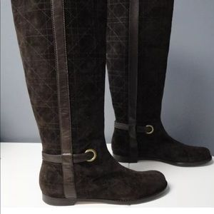 Dior knee length boots $600+
